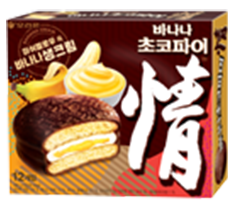 Orion Choco Pie _Banana