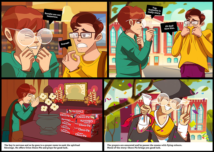 The Legend of Orion Choco Pie – Offering
