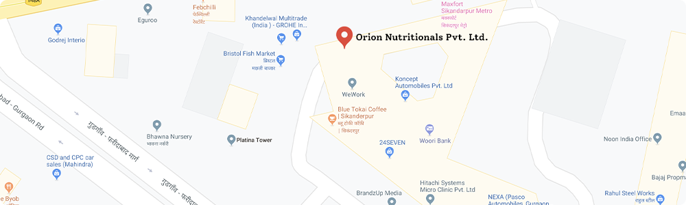 Orion Nutritionals_India